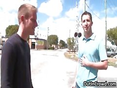 blowjob gay public voyeur