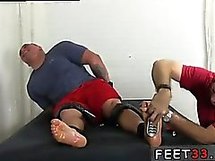 Gay twinks first foot fetish first time He turned into a sni