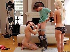 blowjobs casting teen threesome ashlyn-molloy