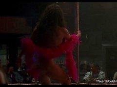 brunettes celebrities public nudity striptease