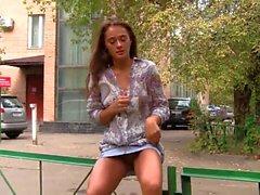 amateur public nudity russian