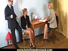 blonde dildo domination fetish