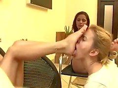 brasilialainen femdom jalka fetissi lesbot