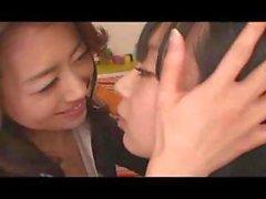 asiatico giapponese baciare