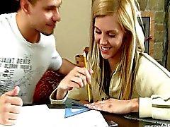 loira boquete caucasiano casal gozada
