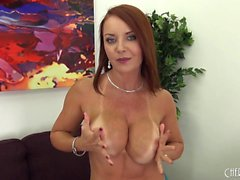 big boobs hd masturbation pornstar redhead