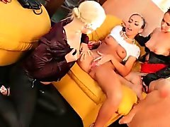 Toys and piss lesbo mix
