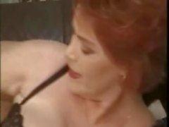 mature granny big tits hairy lingerie