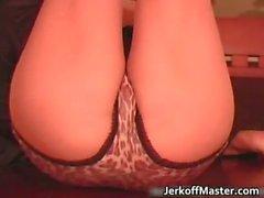 ass babe brunette fetish nylon