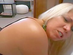 mmf blondine absätze