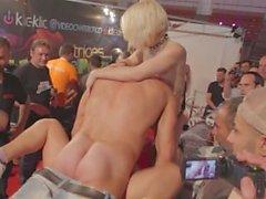 grupo áspero real stripper coño orgía