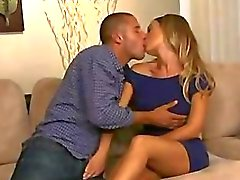 couple oral sex blonde blowjob