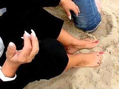 amateur blonde fetish foot fetish mature