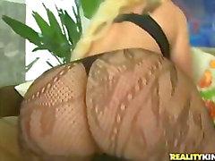 kelly white fishnet