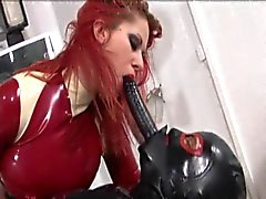 bdsm spanking latex
