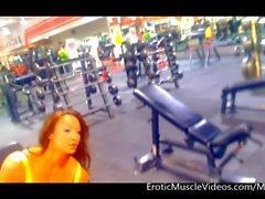 erotic muscle videos femdom muscular women tits