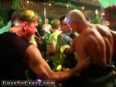 Gay party sex dick movie Dozens of boys go bananas for banan