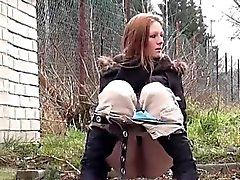 amateur brunette fetish outdoor