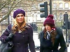 britânico femdom dedilhado lésbicas palmada