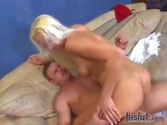 he fucks up the slut friend of his wife