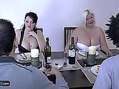 bbw blonde blowjob group sex