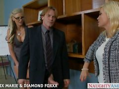 diamond foxx phoenix marie naughtyamerica group ass-fuck