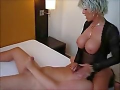 Horny WIfe sits on his Face