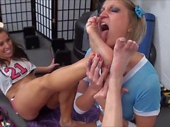 Smelly Stinky Feet Punishment