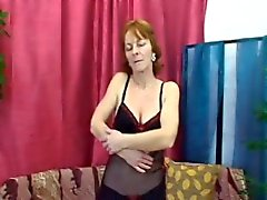 granny hardcore old young redhead stockings