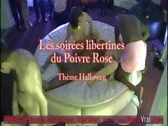 camma home di dilettante di gruppo francese festa