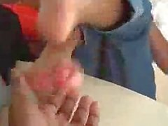 black ebony feet soles tickle