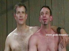 gay gay couple domination bondage fetish
