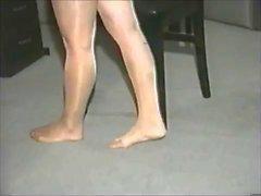 feticismo del piede matura calze