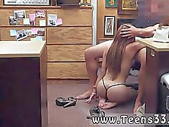 teenager brünett blowjob