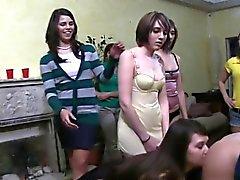 college fetish group sex