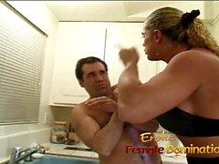 hablar sucio femdom amante mujeres musculosas