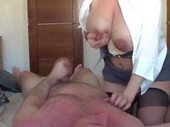 coppia sesso vaginale brunetta grandi tette