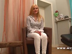 amateur blondes castings french