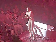 celebrities funny striptease