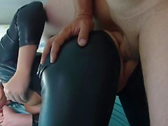 anal blondes latex