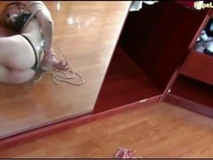 Girl captured, bound, gagged, and taken advantage of