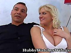 hubbywatcheswife big-boobs mom