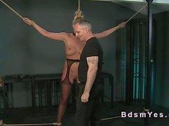 pareja masturbación dominación esclavitud