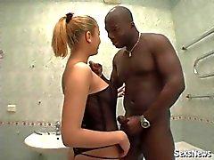 foder interracial preto