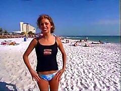 amateur beach flashing public nudity voyeur