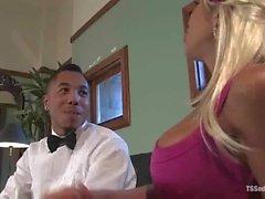 jessica host big tits blowjob blonde tranny