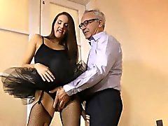 brunette european hd old young