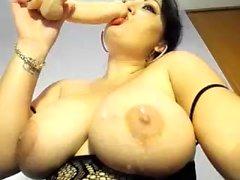 bbw big boobs fat masturbation