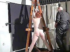 bdsm fetish milf redhead spanking