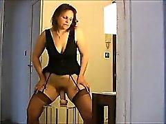 amateur masturbation mature solo stockings